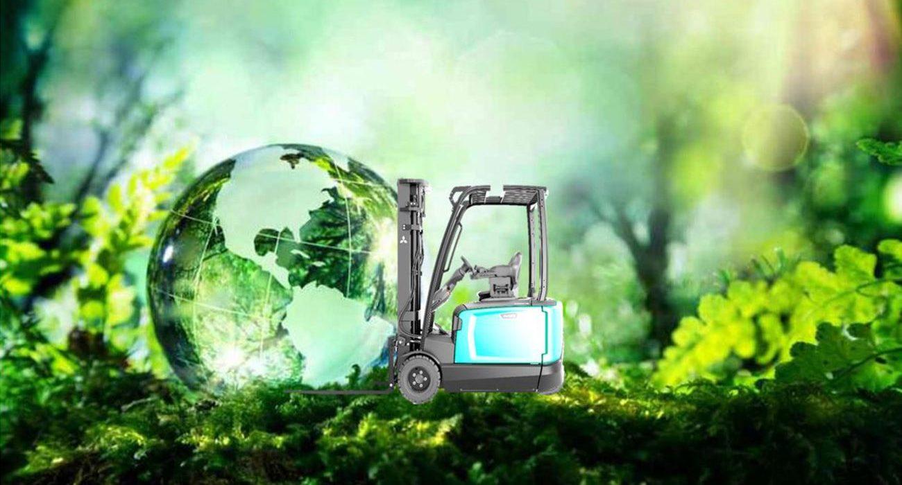 Empreinte écologique du nouveau chariot élévateur