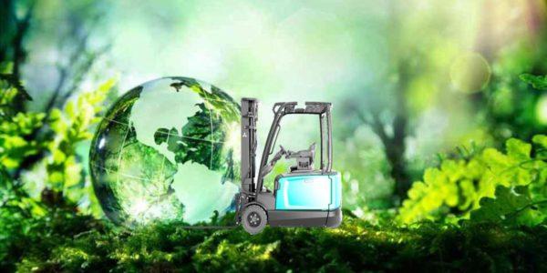 Ecologische voetafdruk diesel heftruck Podevyn